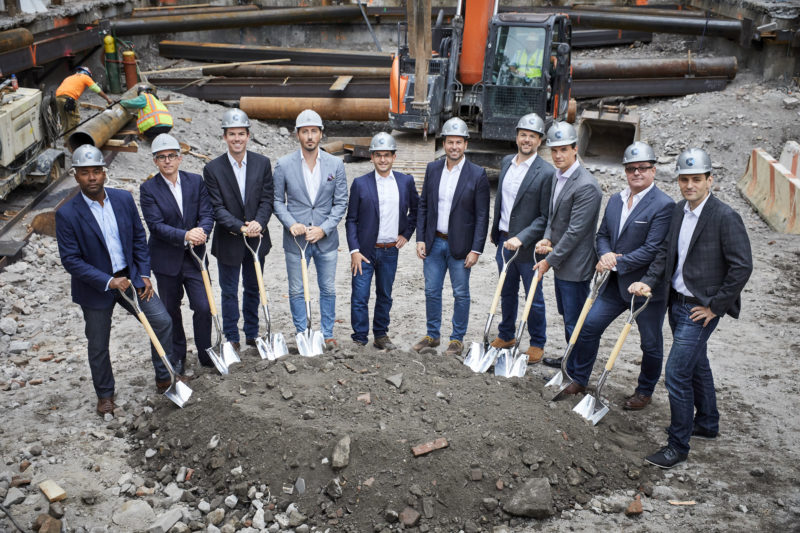 141 E Houston - Groundbreaking